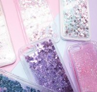 Liquid sequin mobile phone case Glitter Quicksand Cover Glit...
