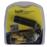 CKC 1 pc New USB Cartão de Captura de Vídeo Easycap 4 CH Adaptador de Captura de Vídeo USB de Áudio e Vídeo para o Formato Digital para PC