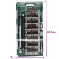 Инструмент 60in1 стали точность отвертка шлицевая отвертка бит ремонт B00674