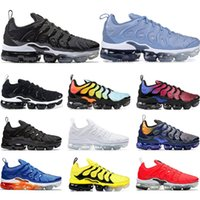 2019 Running shoes for mens PURE PLATINUM Rainbow work bule ...