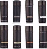 Marka Doğal Saç Bina Lifleri 27.5g Tam Saç Anında İnceltme Saç Dökülmesi Kapatıcı 9 Renkler Mevcut DHL Ücretsiz