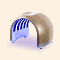 العلامة التجارية الجديدة PDT LED الضوئي قناع الوجه الاستخدام المنزلي الجمال الصك مكافحة حب الشباب آلة تجديد الجلد علاج التجاعيد