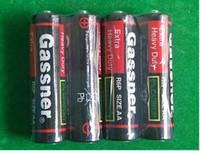 360pcs/Lot R6P R6 UM3 1.5v carbon zinc battery extra heavy duty 100% fresh