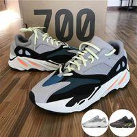 700 V2 2019 Con Box Kanye West Wave Runner aumenta l'inerzia statica 700 V2 Mauve Solid Grey Run Scarpe casual Scarpe da uomo Sneakers da donna Mens Sport