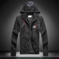 Moda Tasarım Hoodie Erkek Ceket Giyim Askeri Harita Yansıtıcı Ceketler Kapüşonlu Siyah Erkek Lüks Ceketler Hoodies Noctilucent Boyutu M-XXX
