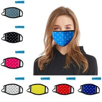 Цветочная маска для лица Anti Dust PM2. 5 Printed Cotton Washable Inserted Filter Outdoor Mouth Cover Mask 500pcs T1I2079