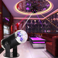 3W Sound Activated RGB LED Crystal Stage Light Magic Ball Di...