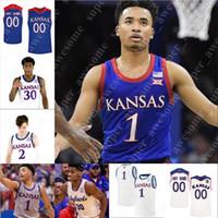Kansas Jayhawks Basketbol Jersey 2 Christian Braun 22 Silvio De Sousa 13 Tristan Enaruna 5 İlyas Elliott 12 Chris Teahan 10 Jalen Wilson