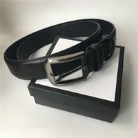 3.8 cm 3,4 cm 2.0cm cinturón hombres mujeres cinturón de alta calidad cinturones de cintura oro plata negra hebilla