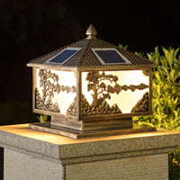 después la energía solar lámparas super luminoso jardín al aire libre impermeable luces del paisaje de ahorro de energía solar luces de iluminación LED posterior villa deck yark