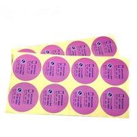 13 인쇄 경험이 풍부한 중국 공장 스티커 멋진 셀프 접착제 인쇄용 광택 라운드 스티커 레이블, 병 레이블 도매 가격