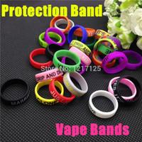 Силиконовая резинка vape кольцо для механических модов декоративная защита vape резиновая полоса vape для 18650 22 мм мод rda rba