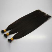 Elibess Marque Cuticule Alined Micro Nano Anneau Extensions de Cheveux Vierges européens Remy Boucle Anneau Top Qualité 0.8g par brins300st Lot