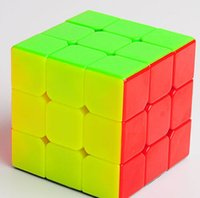 Cyclone Boys No Sticker Rubik Magic Cube 3x3x3 Straight Speed Game Puzzle Ultra Smooth Twist Toy For Kids Toys Toys Toys Regalos Caja