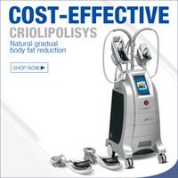 ЕС США CA Великобритания бесплатная доставка ETG50-4S maquina de criolipolisis замораживание жира 4 ручки криолиполиза машина для похудения