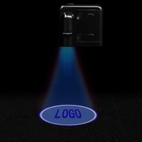 Nouveau 2x Auto Universal Sans Wireless Dorly LED Welcome Light Projection Lampe Laser DC 5V PROJECTEUR DE PORTE DE PORTAILLE DE VOITURE CLAIS