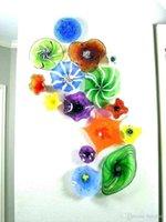 Итальянский дизайн муранского стекла отель Бра висячие Art Креатив стеклянная стена Планшеты выдувное стекло стена блюдо