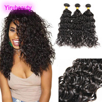 Indian Virgin Hair Water Wave Curly 8- 28inch Hiar Extensions...