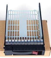 Bandeja de la unidad de 3,5 pulgadas pulgadas de intercambio (SFF) SATA / SAS caliente 373211-001