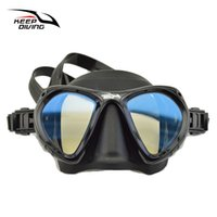 Wholesale-Keep Diving Professional Full -Dry Schnorchel-Maske für Erwachsene Scuba Diving Masken faltbar