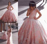 2019 encantadores vestidos para niñas de flores Estilo de Dubai Hija Niño pequeño Niños bonitos Concurso Formal Primera comunión Vestido para la iglesia Country Garden