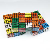 لغز مكعب صغير الحجم 3 سنتيمتر البسيطة ماجيك مكعب لعبة التعلم لعبة تعليمية ماجيك مكعب هدية جيدة لعبة الضغط اللعب