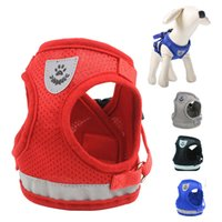 Reflective Mesh Dog Harness for Small Medium Dogs Chihuahua ...