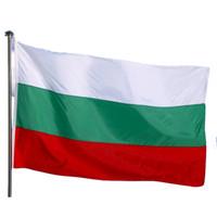 실내 실외 불가리아 깃발 나라 국립 불가리아어 플래그 150x90cm 저렴한 가격 폴리 에스터 인쇄, 무료 배송