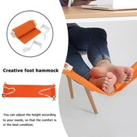Creative Desk Feet Hammock Foot Chair Attrezzo di cura The Foot Hammock Outdoor Rest Culla portatile per ufficio Mini Feet Rest