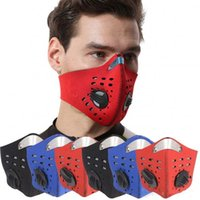 Fast Shipping Sport Face Mask With Filter Activated Carbon P...