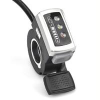 전기 스쿠터 E-자전거 액세서리 스위치와 전기 자전거 엄지 스로틀 배터리 전원 표시