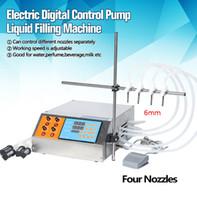 3-4000ml manuale elettrico digitale di controllo della pompa macchinari piccola bottiglia di profumo del tubo succo di Acqua Minerale olio liquido macchina di rifornimento