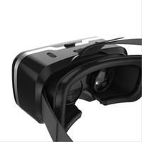 VR Shinecon 3D 몰입 형 가상 현실 안경 골판지 VR 박스 헤드셋 4.5-6.0 인치 스마트 폰 + 컨트롤러
