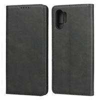 Luxury Real flip custodie in pelle per Samsung Galaxy S21 Ultra S20 Fe NOTA 20 Plus A52 A32 A12 5G iPhone 13 12 Pro Max Portafoglio Cassa del telefono