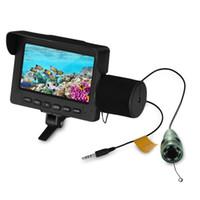 Fischfinder Unterwasser-LED-Nachtsicht-Fischen-Kamera 15M Kabel 1000TVL 4,3 Zoll LCD-Monitor