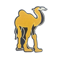 Patched Camel cloth stickers animal felt adhesive embroidery...