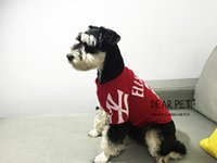 Pet dog clothes Sweater collars street fashion English NY pr...