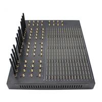 Cambio de IMEI del módem GSM SMS 64 Puerto, 512 de múltiples conjunto de módems GSM SIM con los sms precio barato de puerta de enlace
