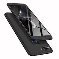Funda para teléfono móvil 360 grados todo incluido esmerilado para Xiaomi Redmi 6
