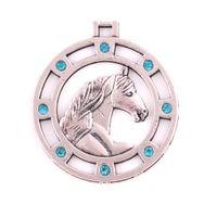 HL0082 vendas diretas da Fábrica nórdicos viking pingente do vintage animal amuleto cavalo forma oca pingentes menina amigo presente jóias religiosas