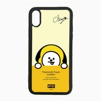 BT21 Simulated Glass Phone Case For Iphone 5s 6s 6plus 6splu...