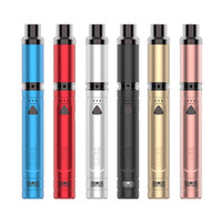 Authentic Yocan Armadura Kit Wax Pen 380mAh Concentrado Variable Voltage Kits com QDC bobina de cabeça carregamento rápido DHL grátis