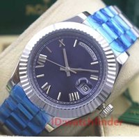 18k Gold Men Geneva Roman Dial Luxury designer Automatic Day...
