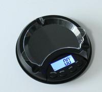 Portacenere Peso Bilancia Elettronica Digitale Equilibrio Bilancia per uso domestico Bilance da cucina Display LCD da cucina LCD 500G / 0.1G 200G / 0,01G