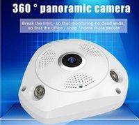 HD 1080P / 3MP WiFi VR Cámara panorámica de 360 grados WiFi inalámbrico Cámara IP Sistema de vigilancia de seguridad para el hogar CCTV CCTV