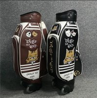 The newest golf bag Pull rod tug bag standard golf ball bag ...