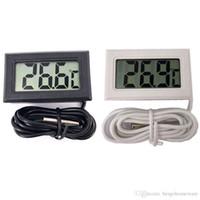 Mini Mini Termómetro electrónico Digital Termómetro LCD Instrumentos de Temperatura Sensor Temper Tester Durable Preciso Digital Temp Metro BH1235 TQQ