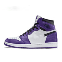 1 High OG Court Purple WMNS UNC To Chicago Basketball Shoes ...