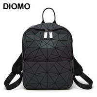 Diomo 2018 New Arrival Women Backpack Luminous Shining Geome...