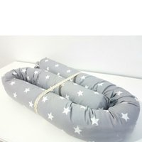 Cylindrical candy Stars Design Baby Bed Thicken Bumpers One-...
